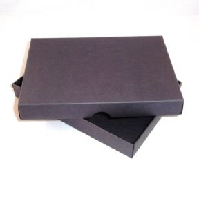 A6 Black Greeting Card Boxes For Handmade Cards